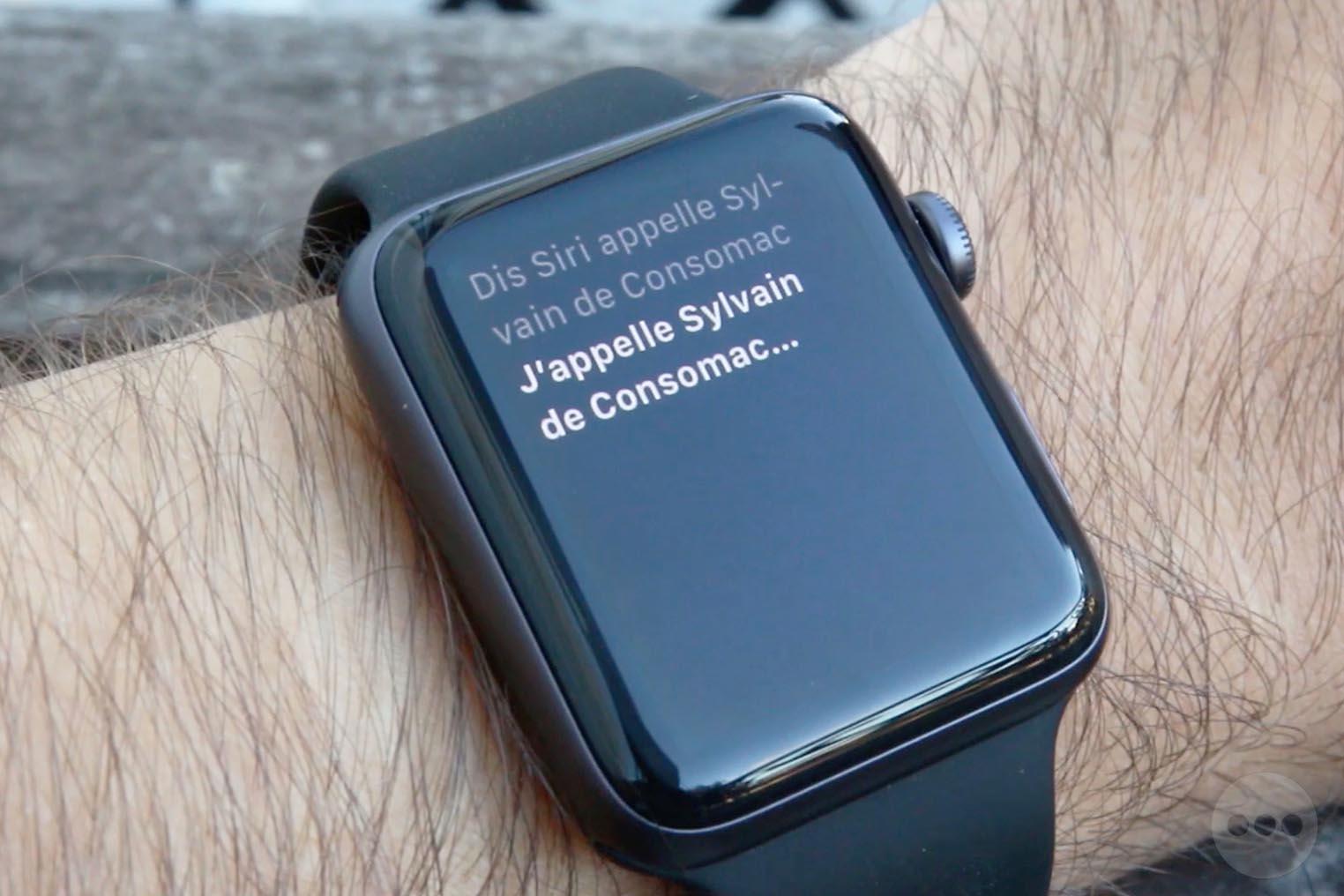 Dis Siri Apple Watch 3