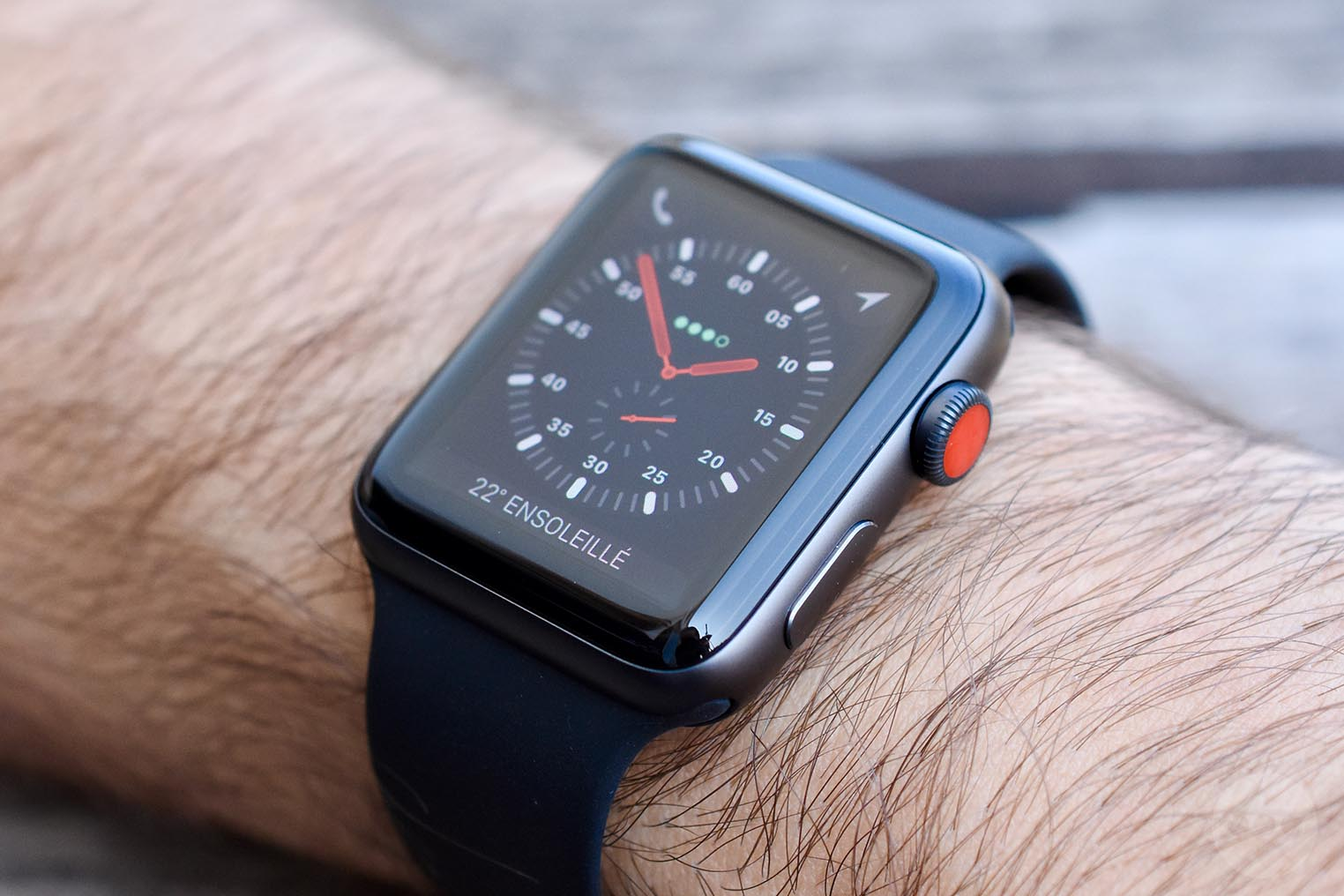 Test Apple Watch 3