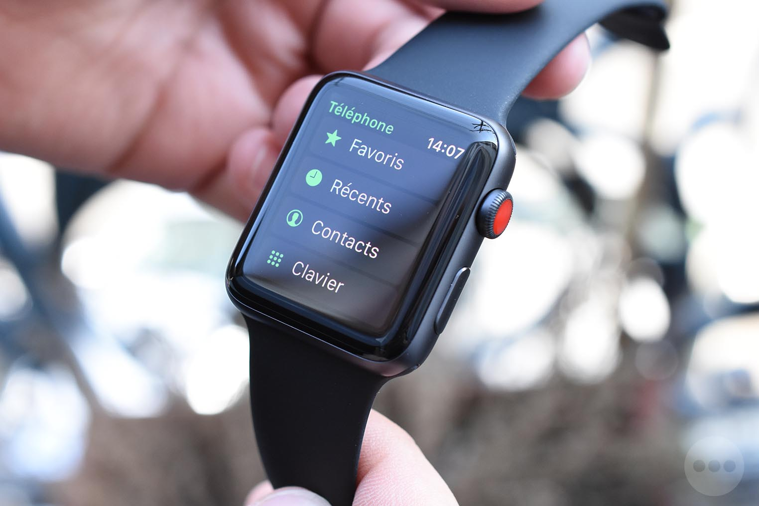 Apple Watch 3 téléphone