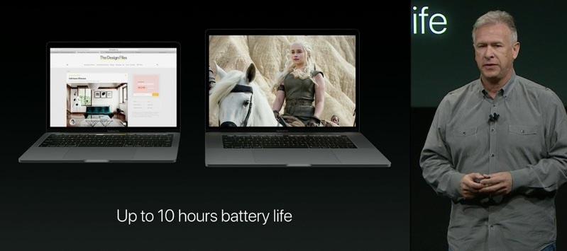 Autonomie MacBook Pro 2016
