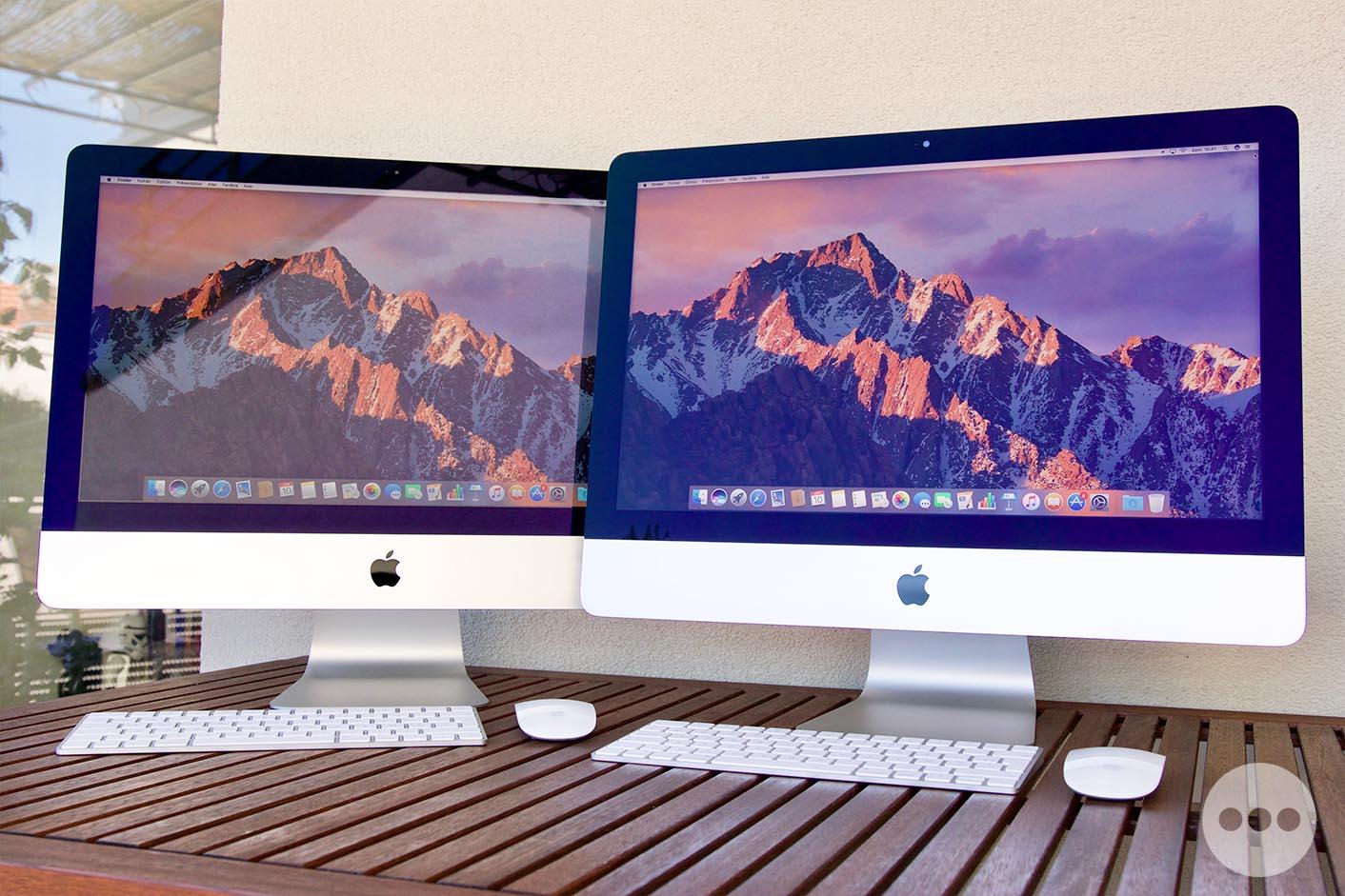 Test iMac 2017 écrans