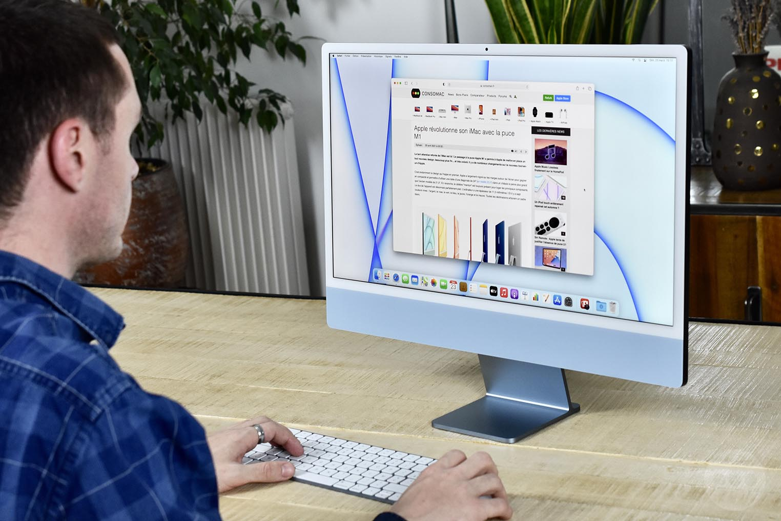 Test iMac M1