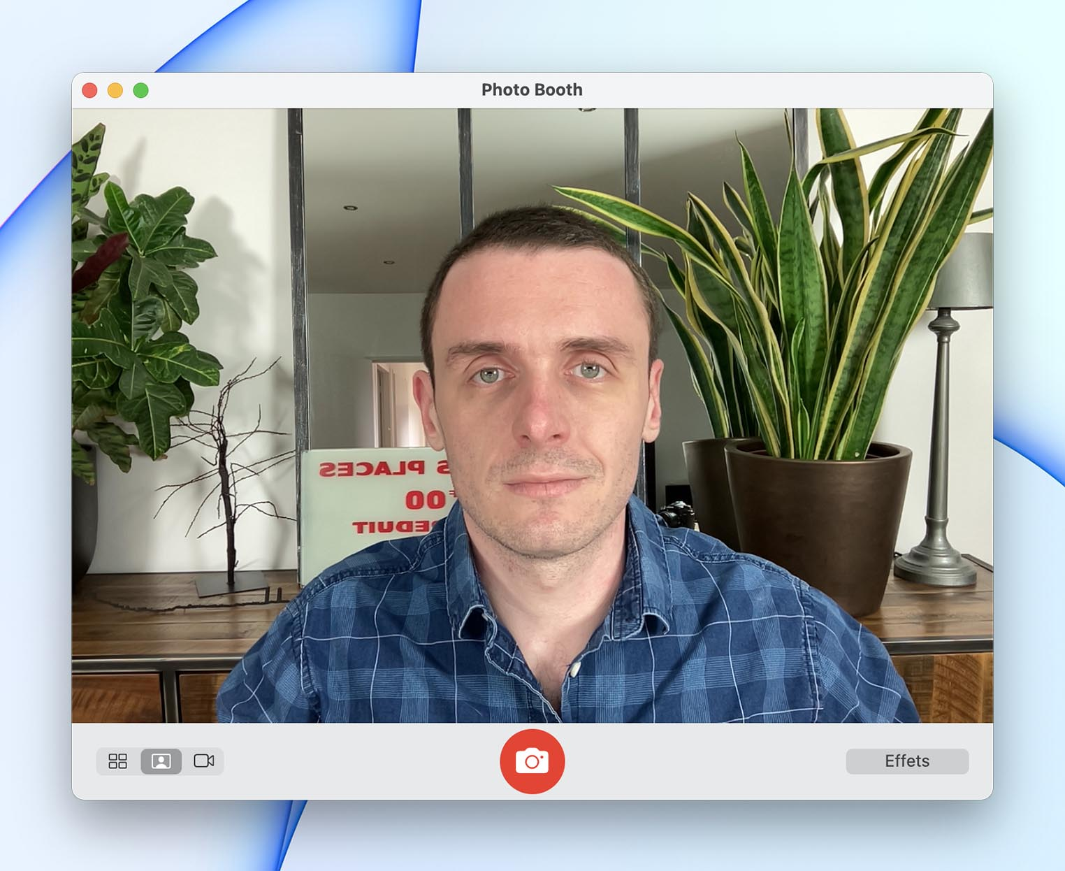 Test webcam iMac M1