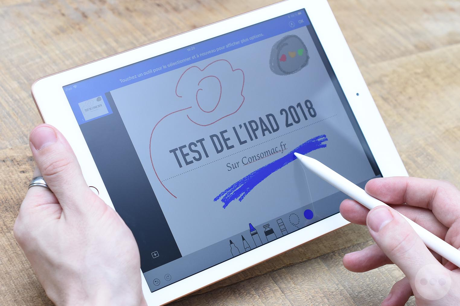 Test iPad 2018 Keynote