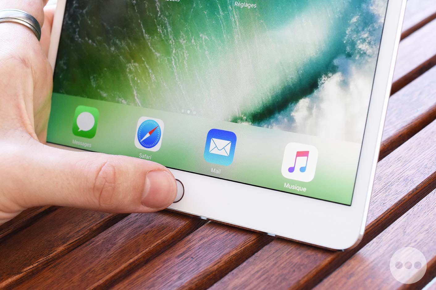 Test iPad 10,5 pouces Touch ID