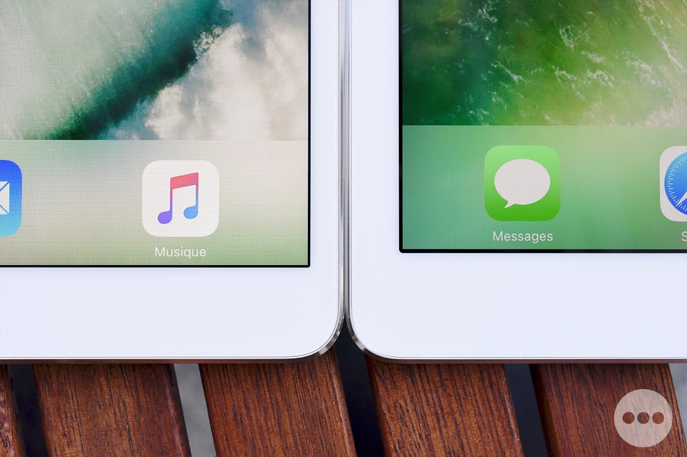 Test iPad 10,5 pouces écran