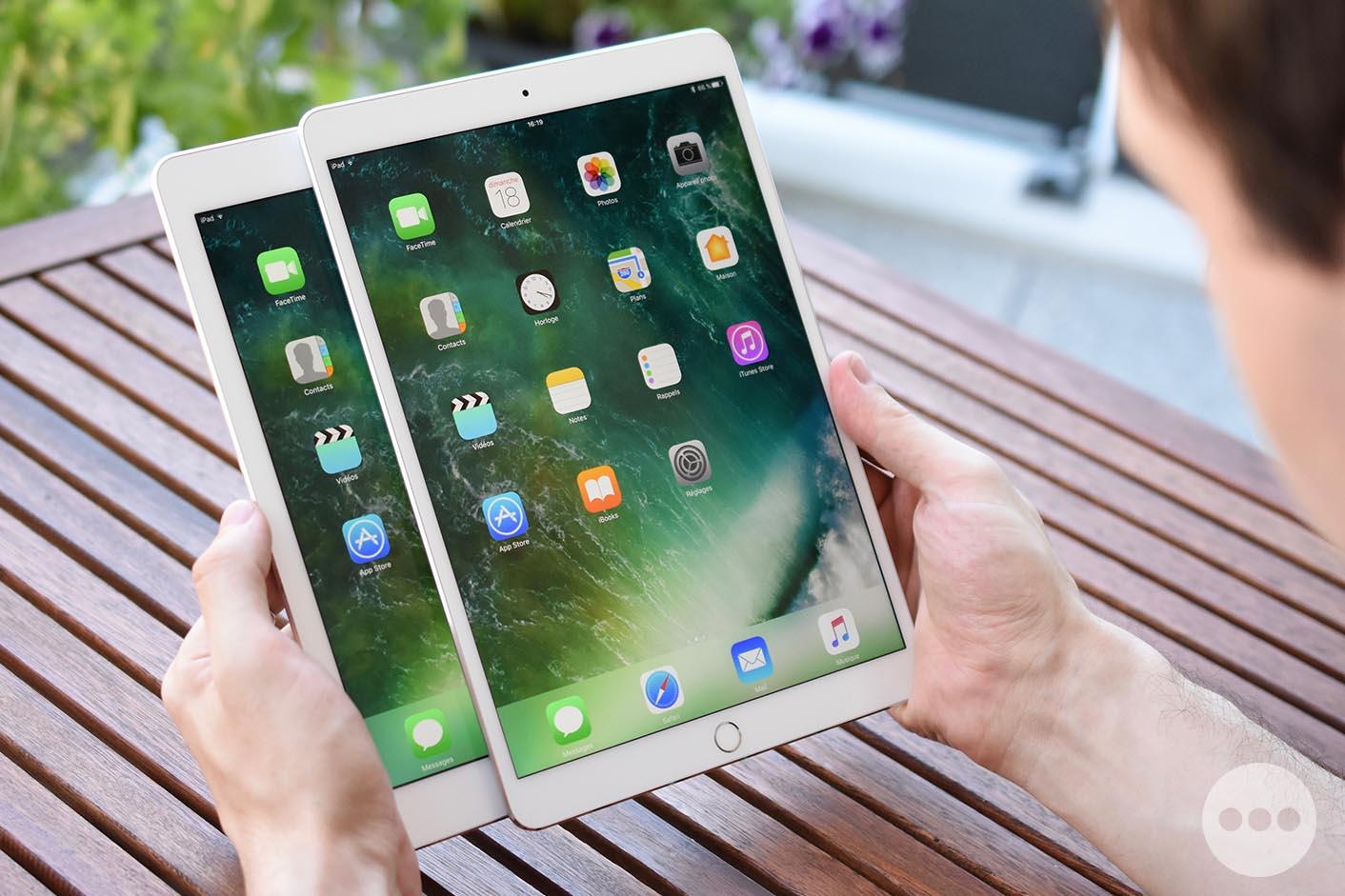 Test iPad Pro 10,5 pouces