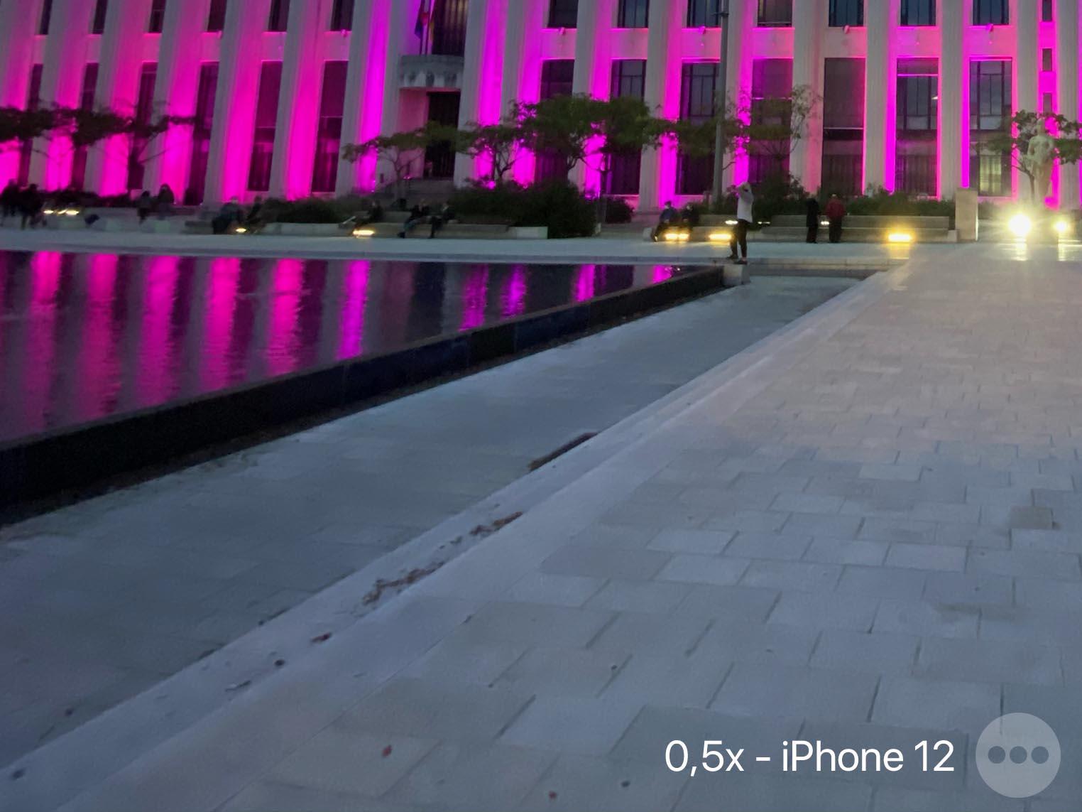 Test ultra grand-angle iPhone 12