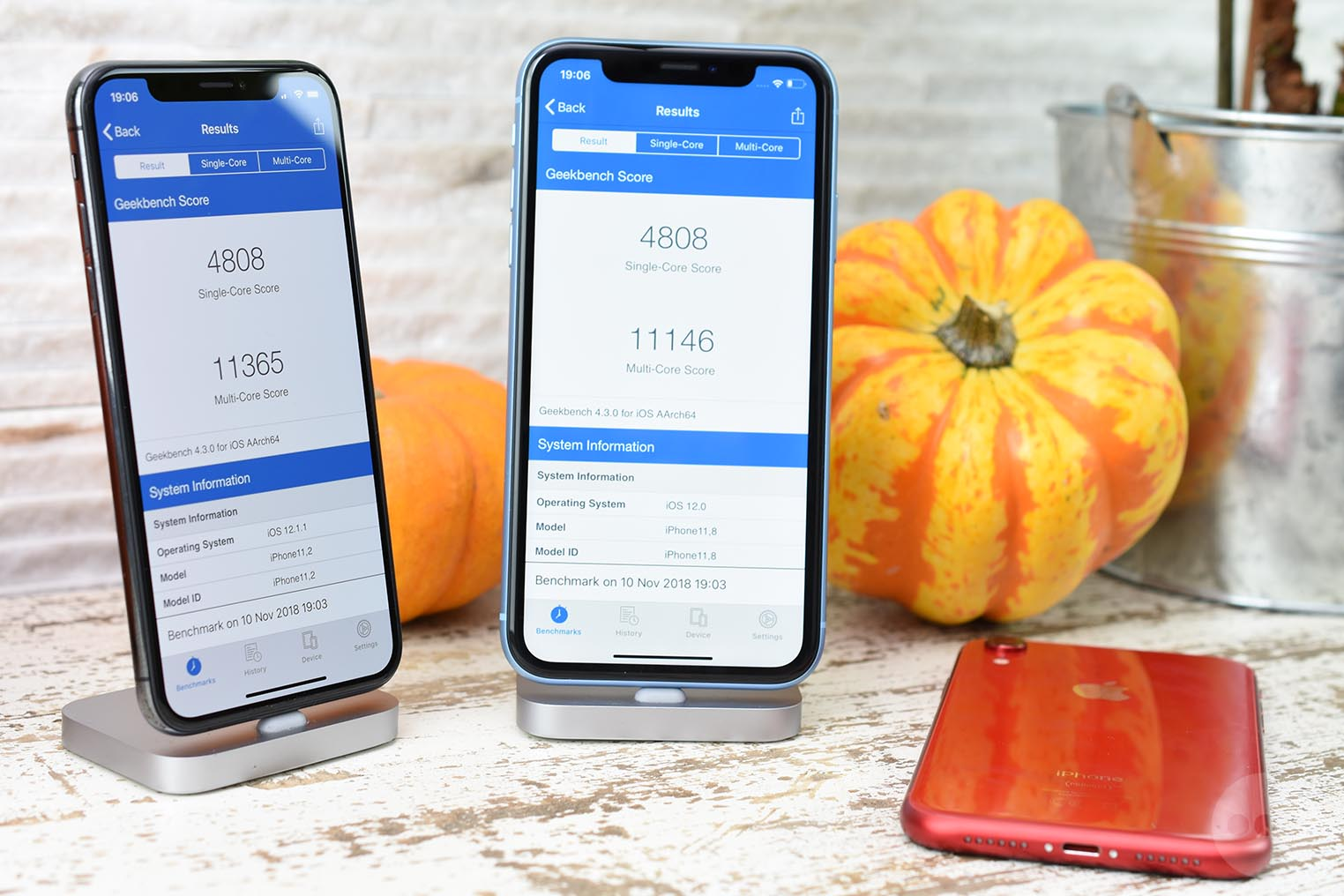 test iPhone XR benchmark Geekbench