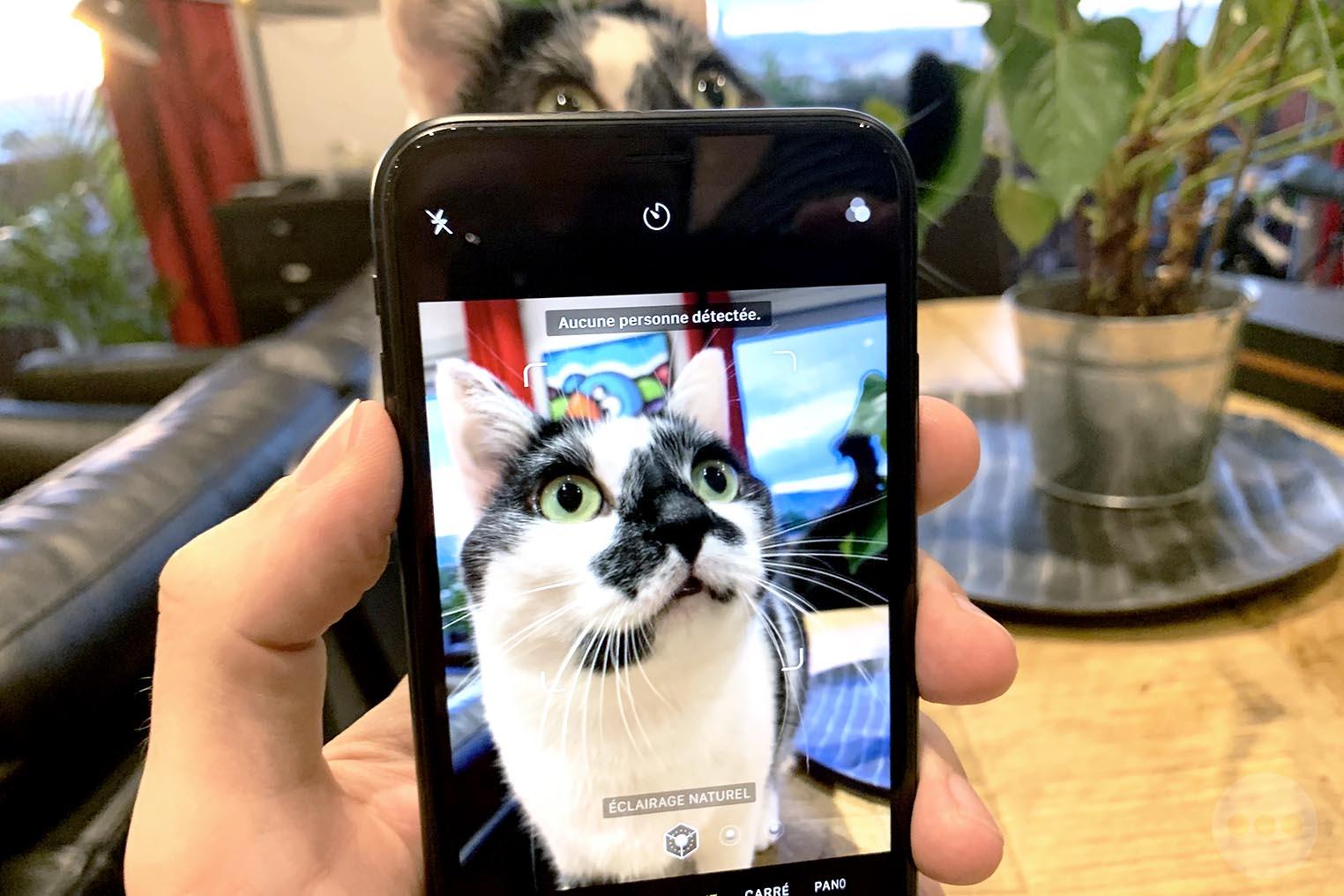 iPhone XR mode portrait chat