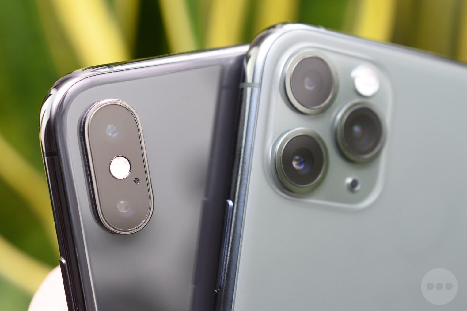 Appareils photos iPhone XS iPhone 11