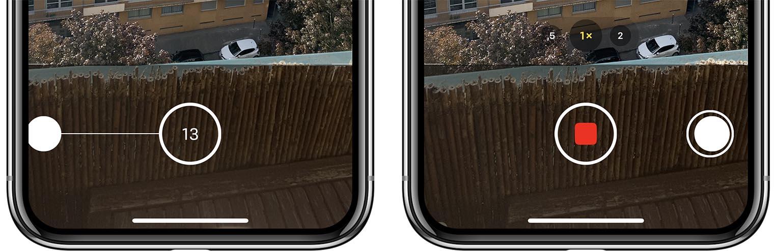 Test iPhone 11 QuickTake