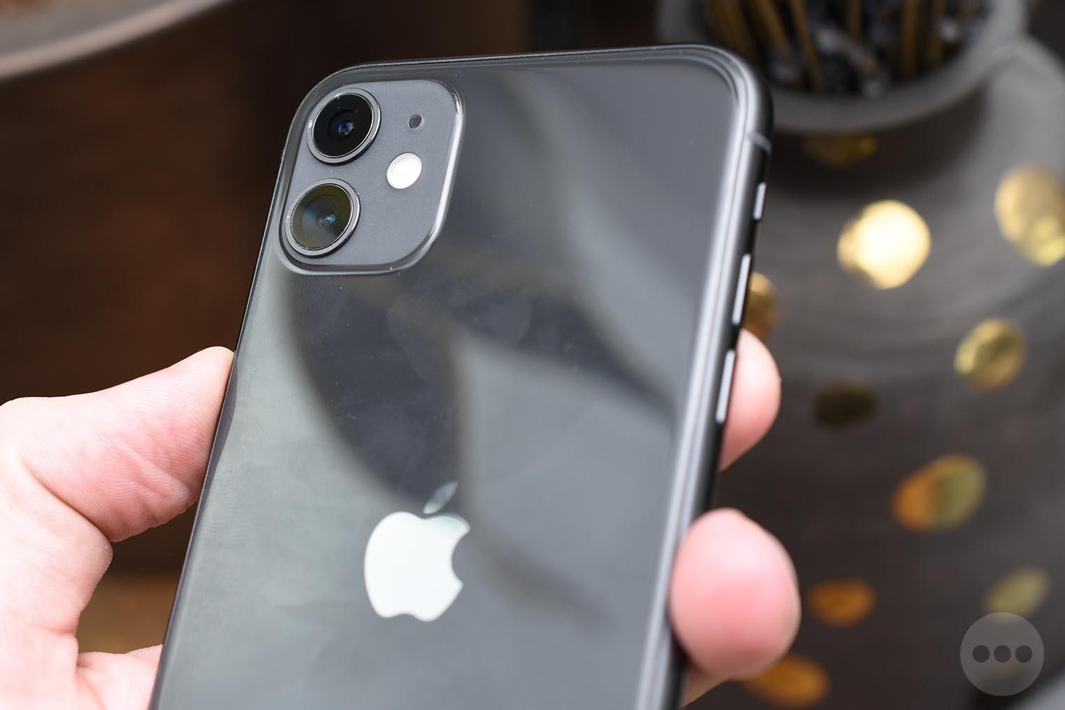iPhone 11 traces de doigts