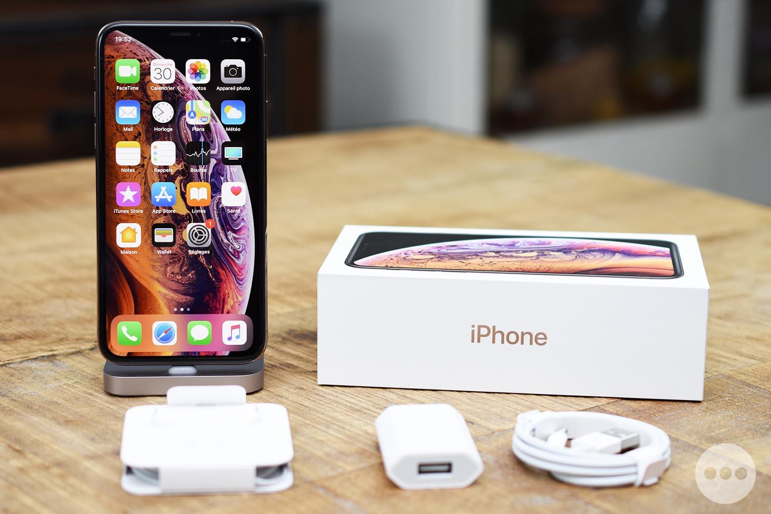 iPhone XS boite