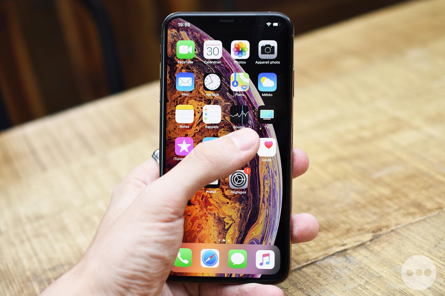 Taille iPhone XS Max