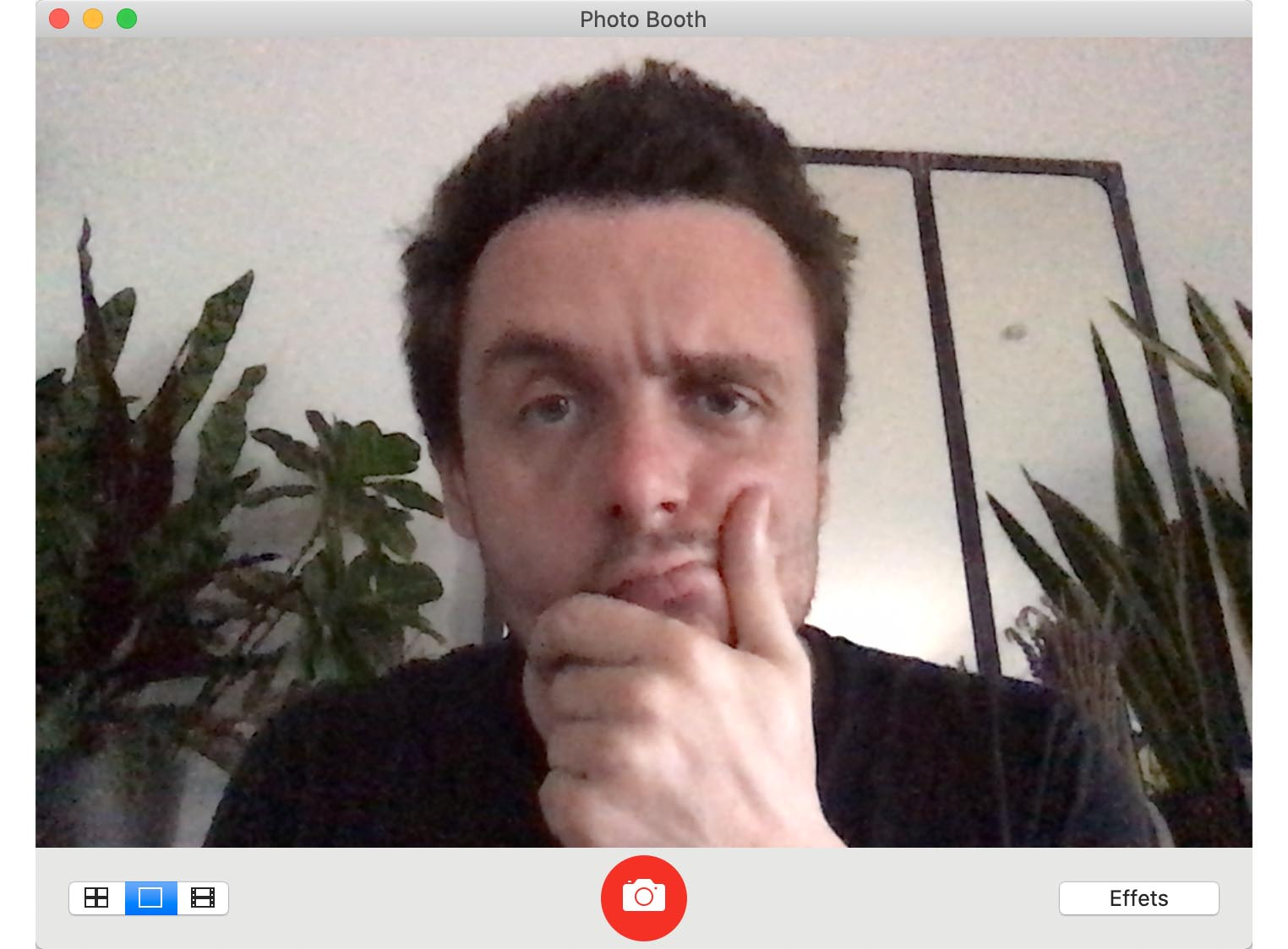 Test MacBook Air 2020 Webcam