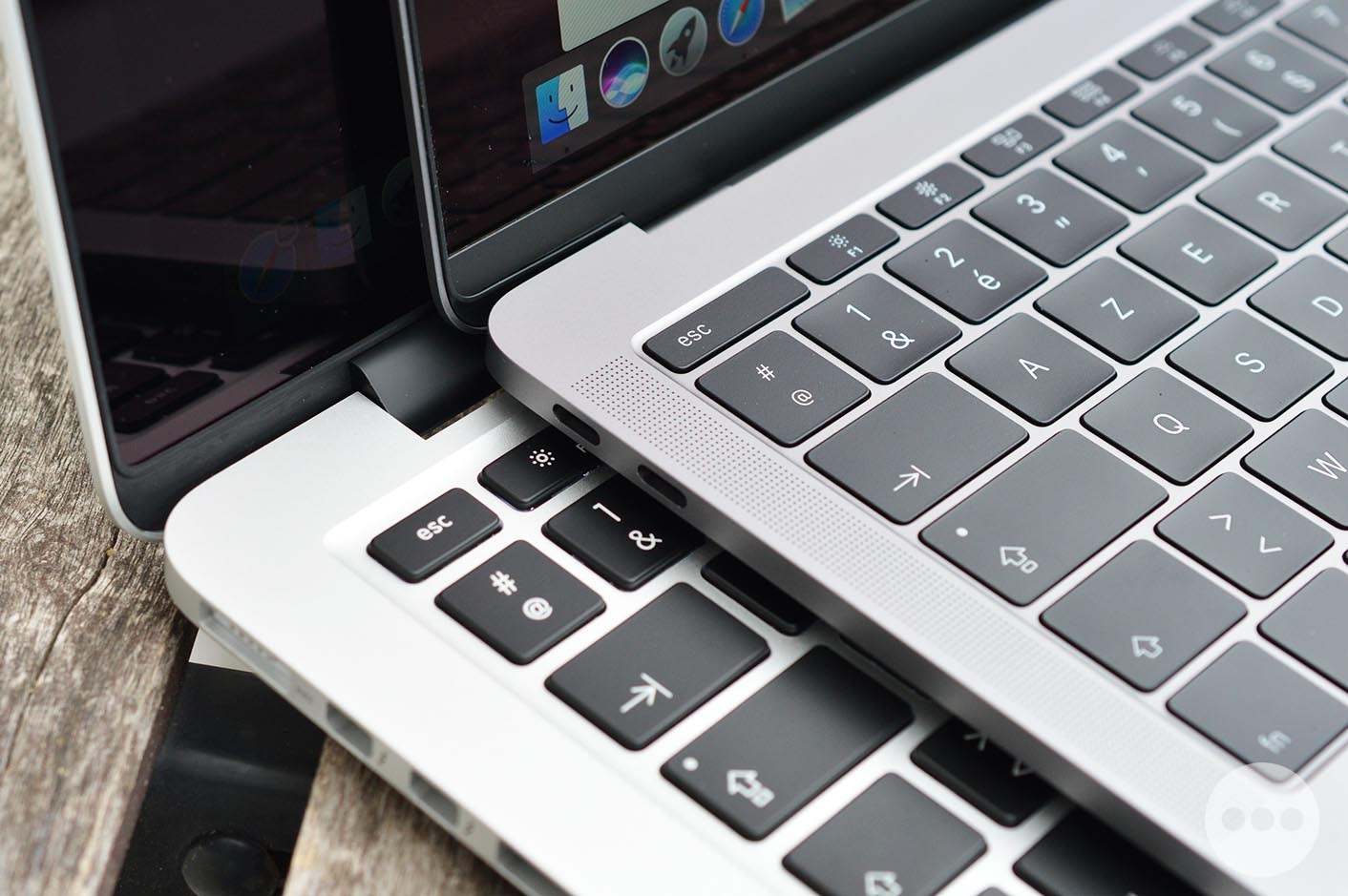 Test MacBook Pro marges clavier