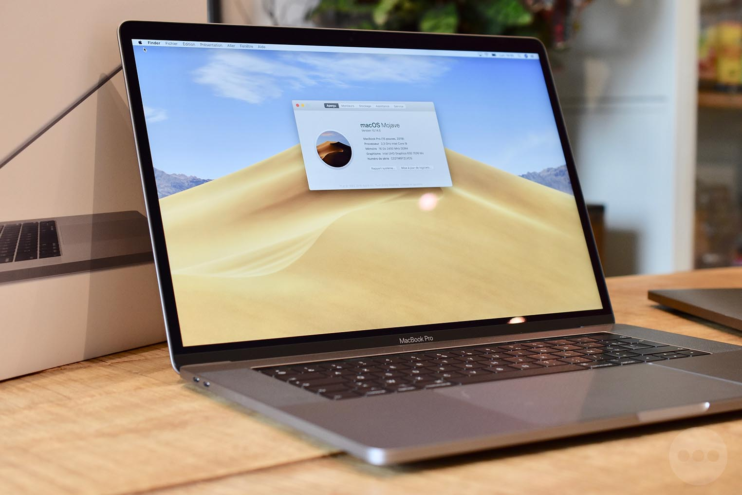 Test MacBook Pro 2019