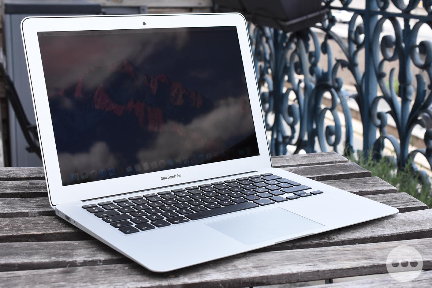 Test MacBook Air 2017