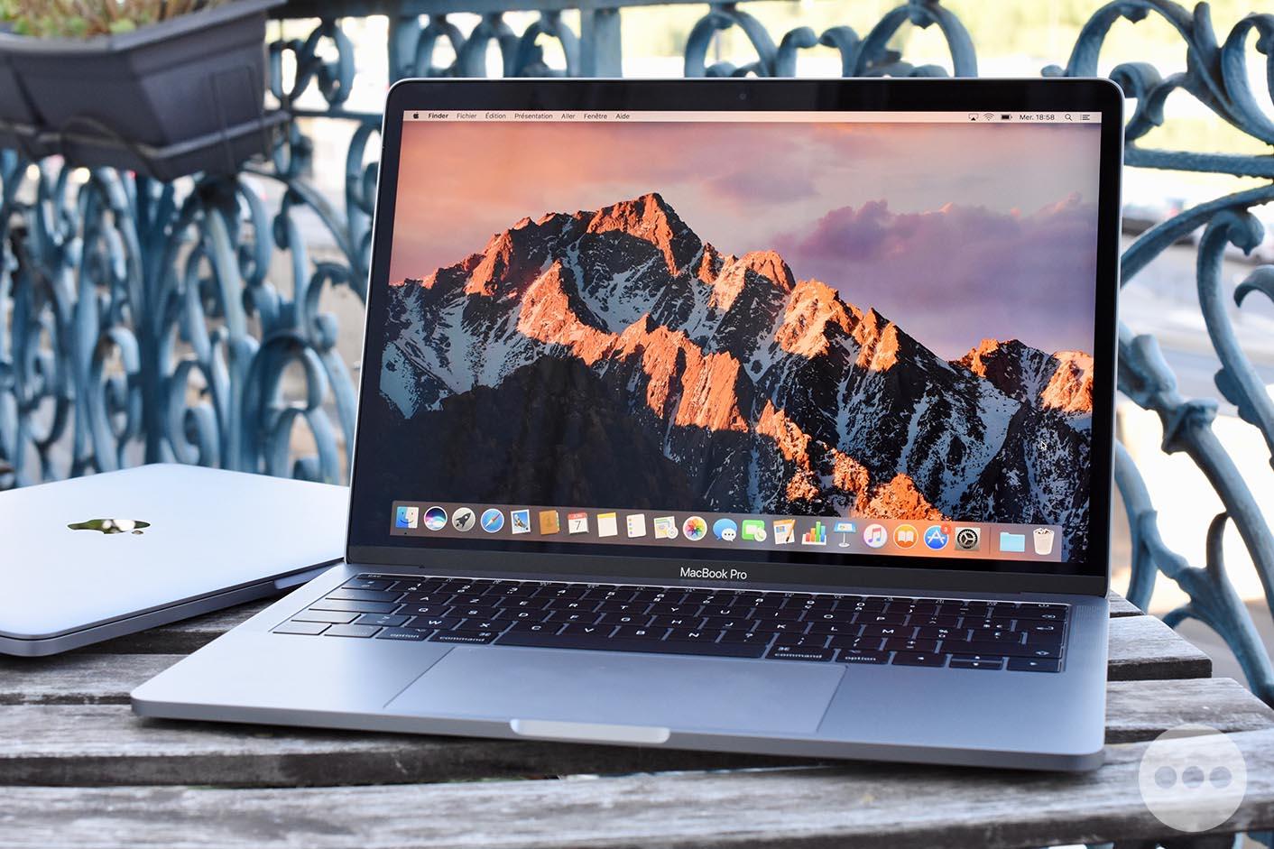 0b62581edc Consomac : Notre test du MacBook Pro 13,3'' de 2017