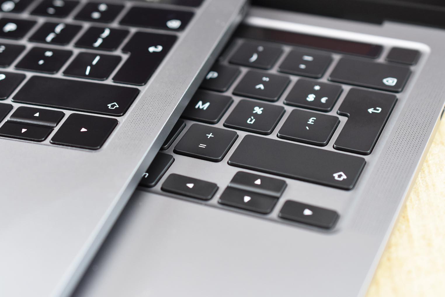 Épaisseur MacBook Pro 13 pouces 2020