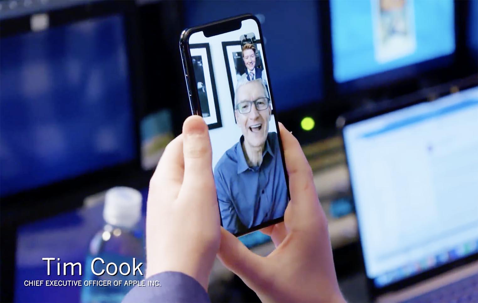 Tim Cook FaceTime