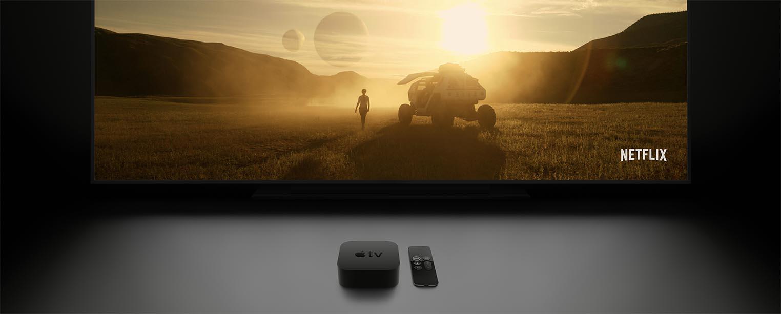 Apple TV Netflix
