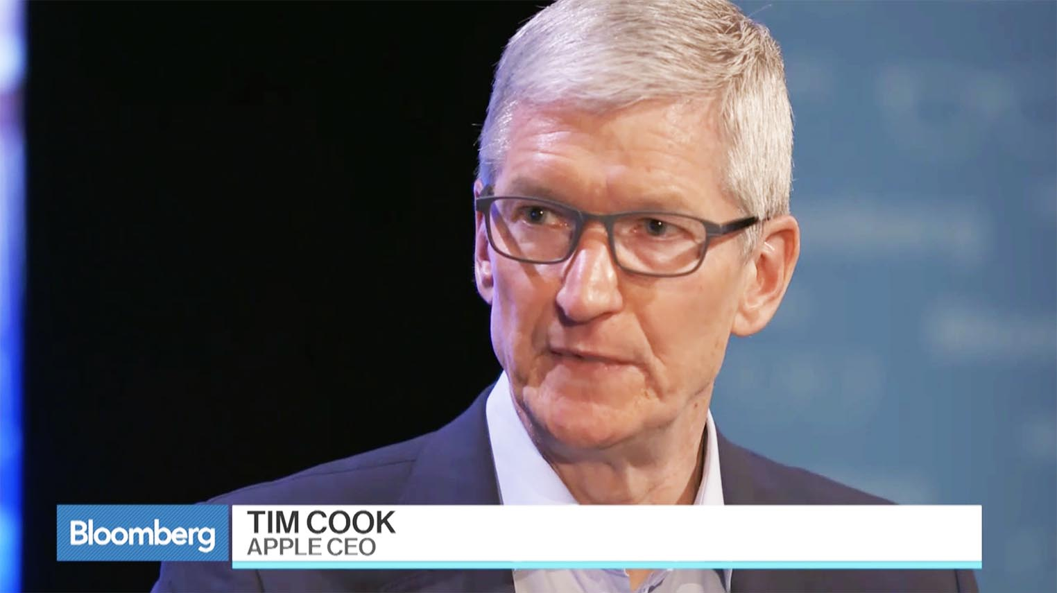 Tim Cook Bloomberg