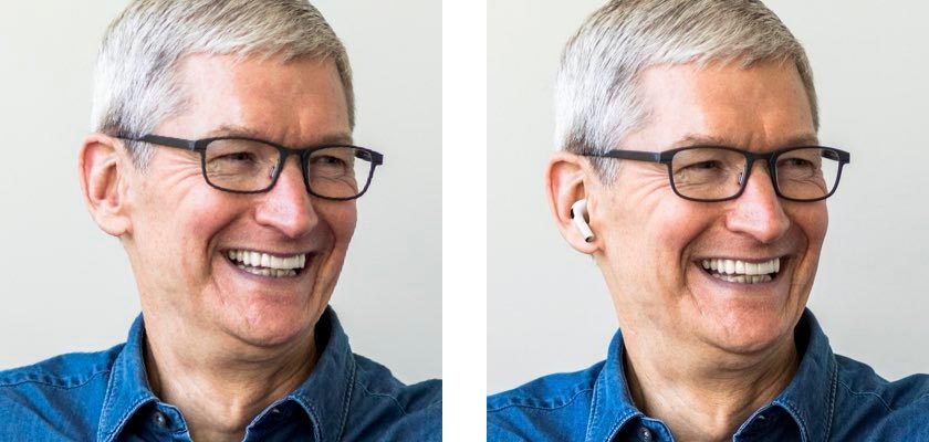Tim Cook AirPods Pro Twitter