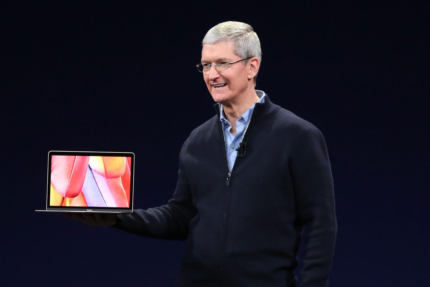 Tim Cook MacBook 12