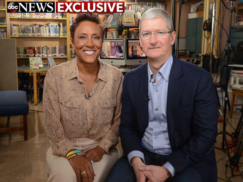 Tim Cook interview ABC