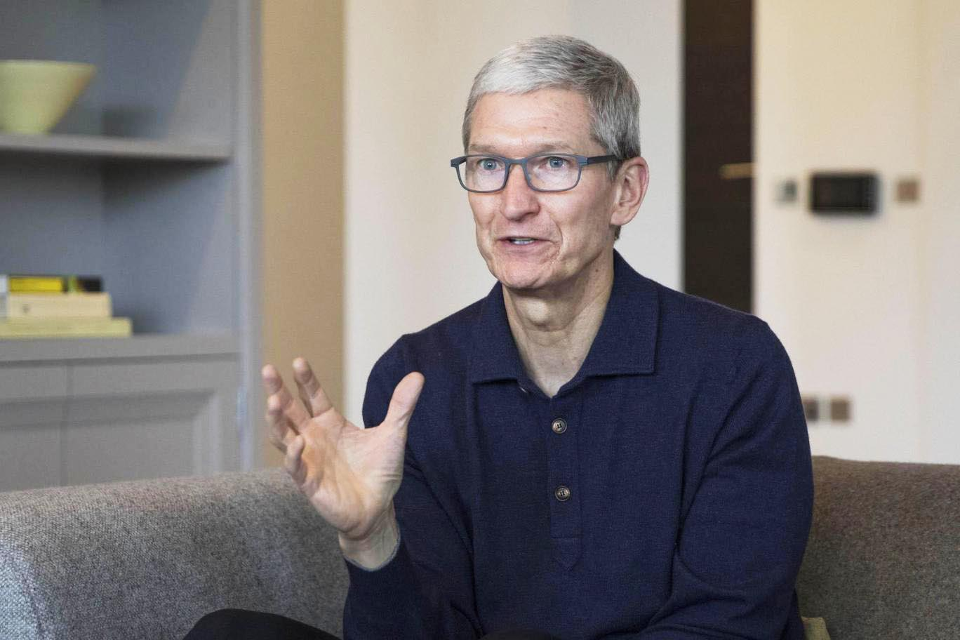 Tim Cook lunettes
