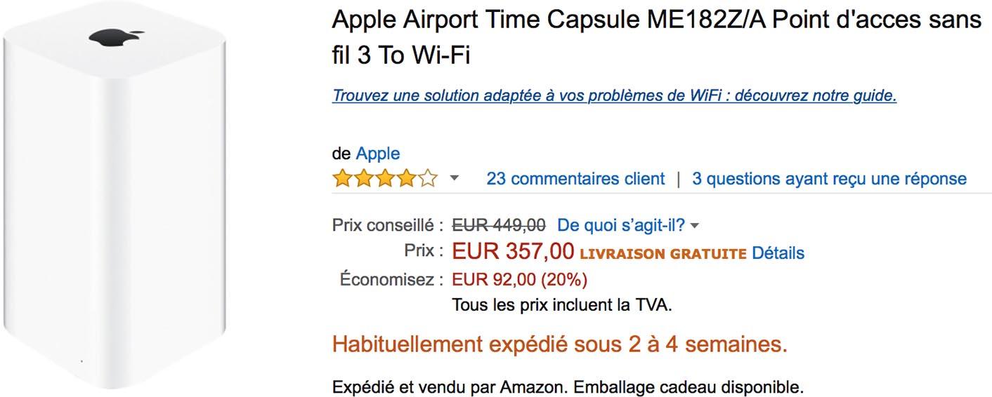 Time Capsule promo Amazon