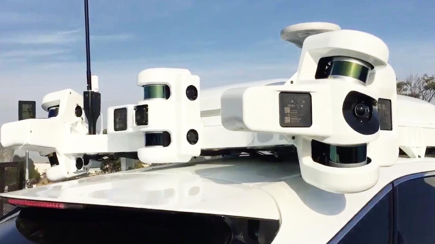 Projet Titan Apple Car