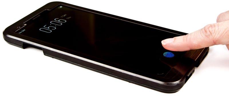 Touch ID sous l'écran développement