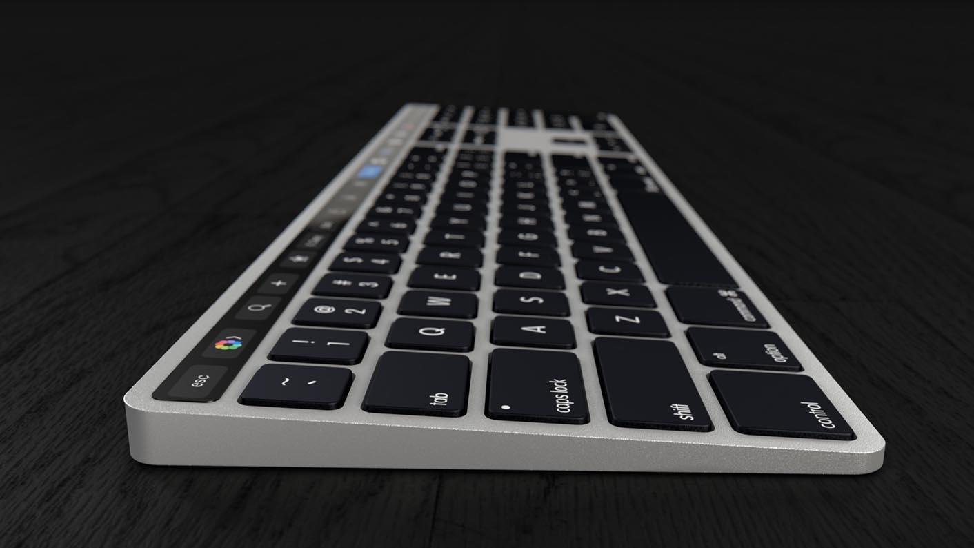 Magic Keyboard iMac concept