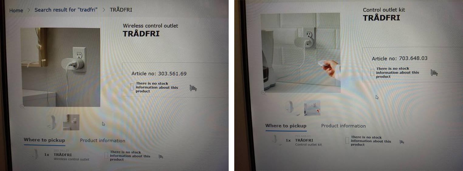 Prise Ikea Tradfri
