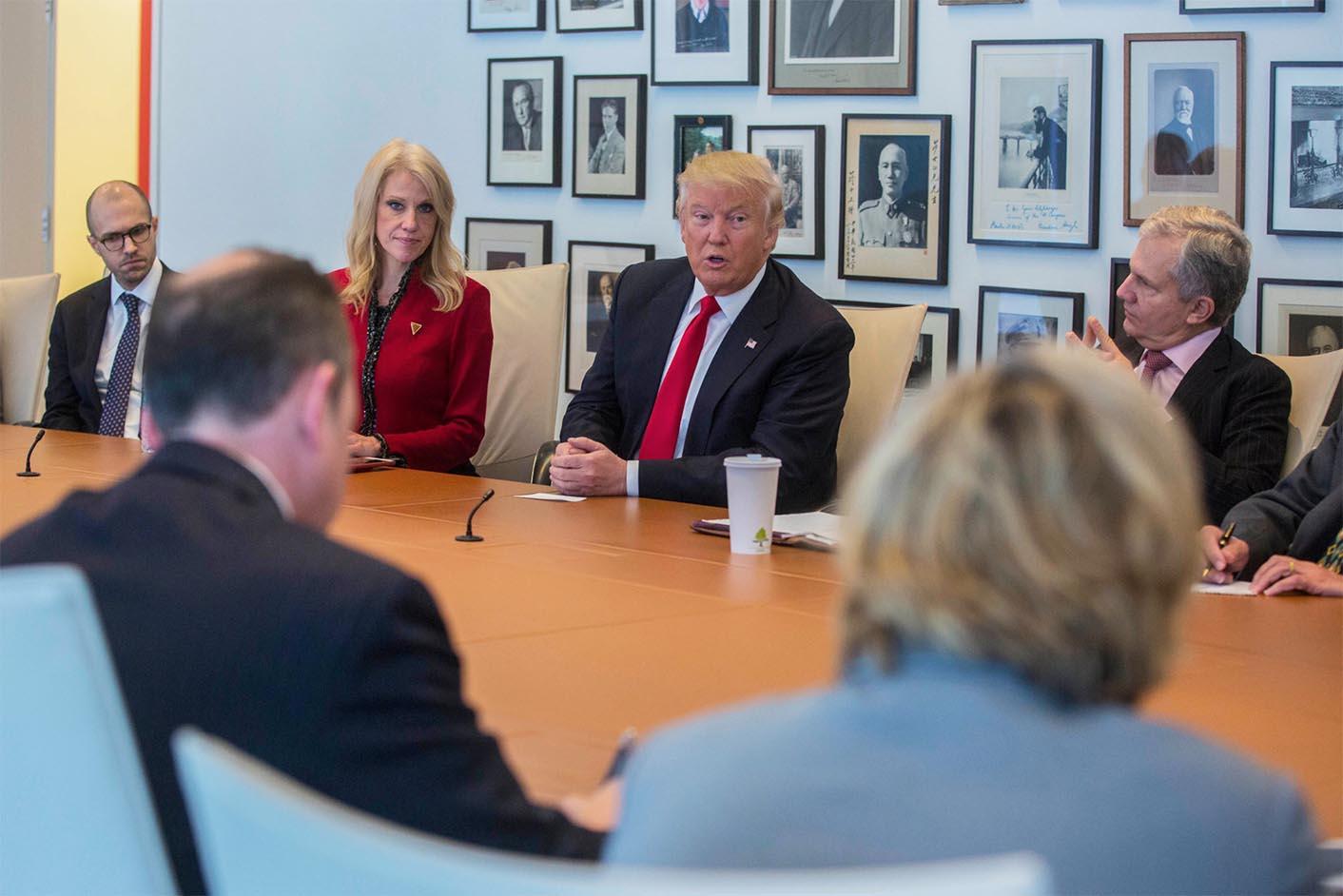 Donald Trump New York Times Interview