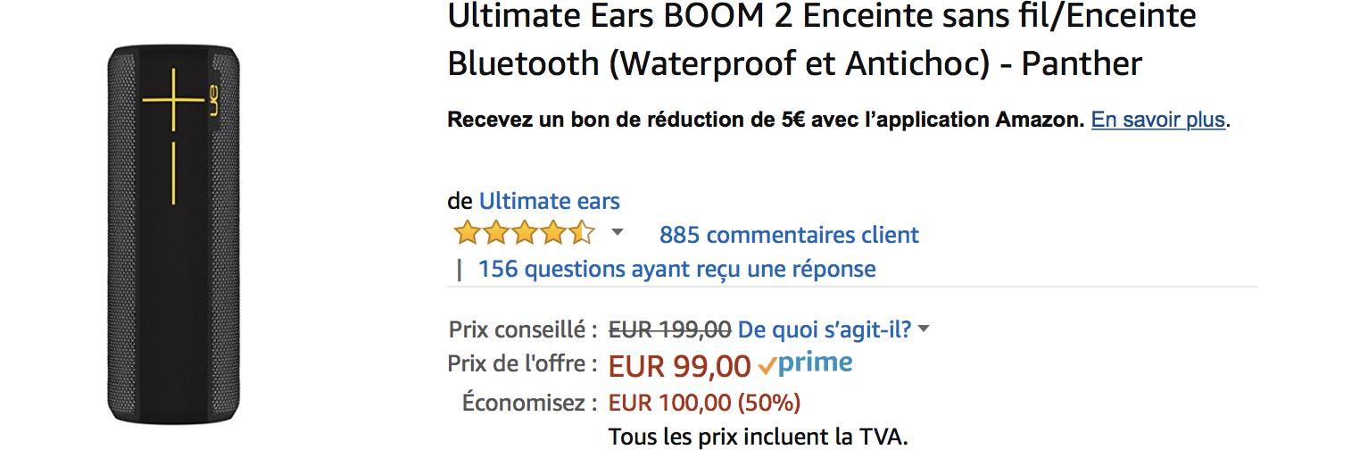 UE Boom 2 Amazon