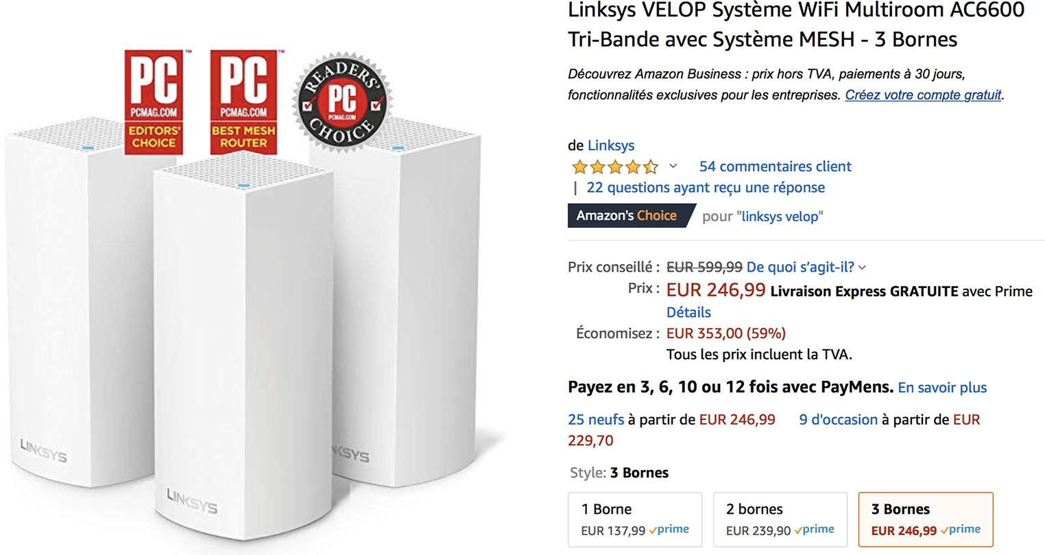 Velop Linksys Amazon