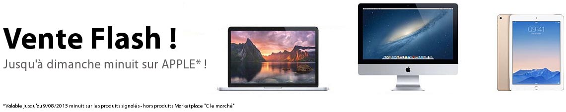 Vente flash CDiscount Apple