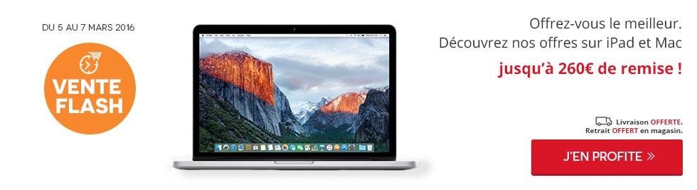 Vente flash Apple Darty