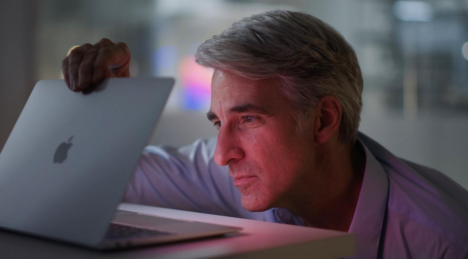 Craig Federighi MacBook M1