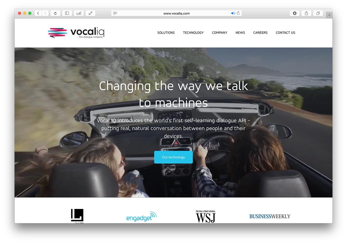 VocalIQ Screenshot