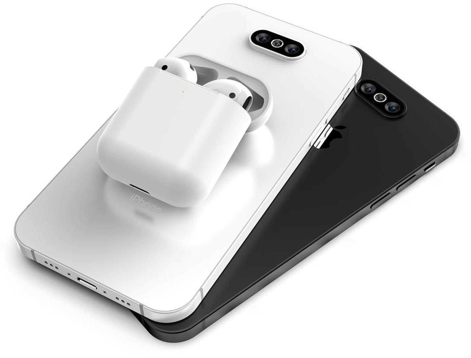Concept AirPods 2 iPhone 11
