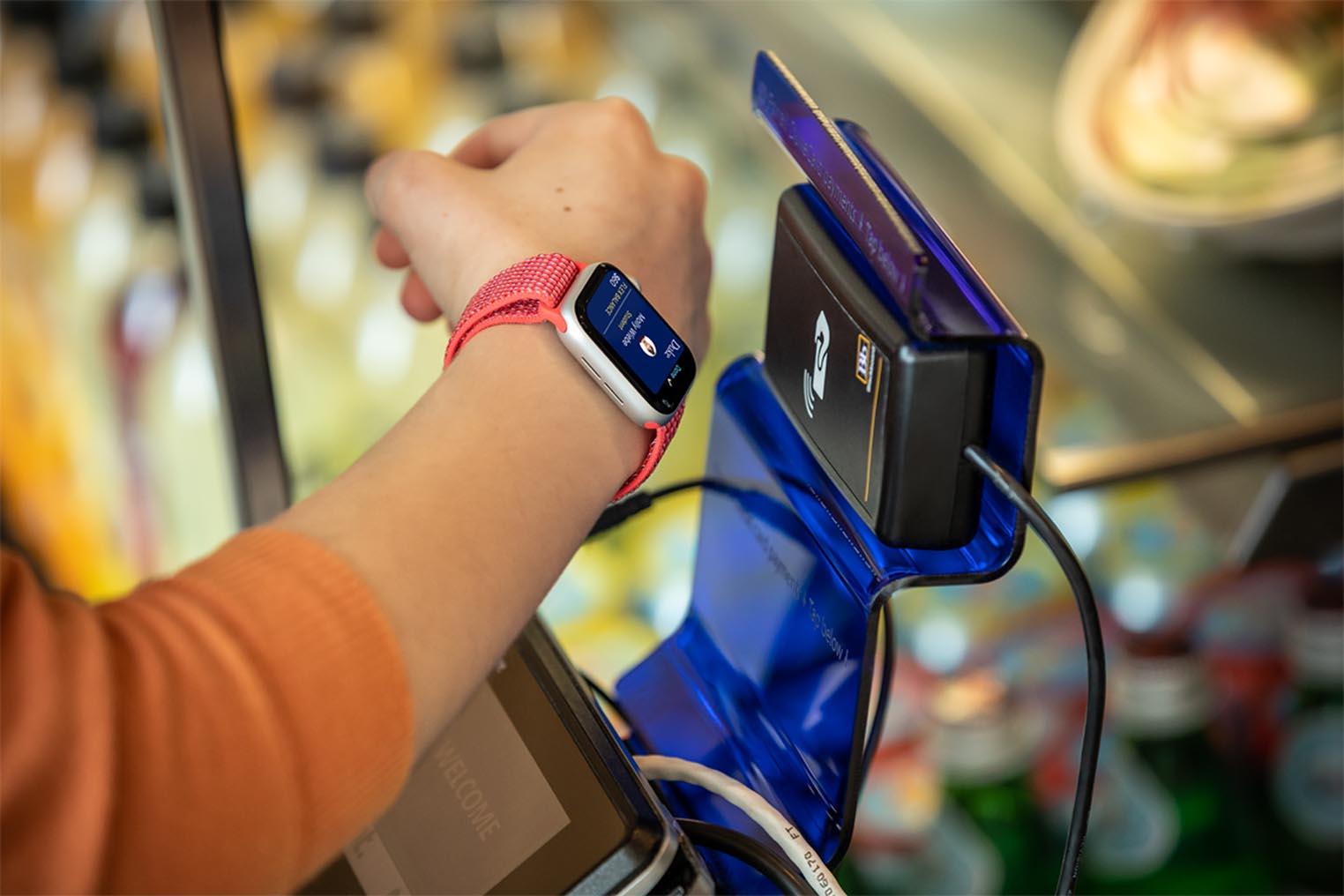 Apple Watch Wallet étudiants