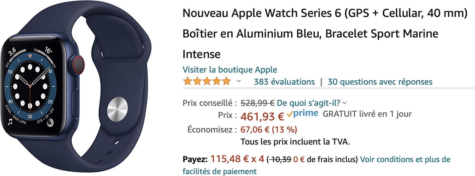 Apple Watch Series6 Amazon