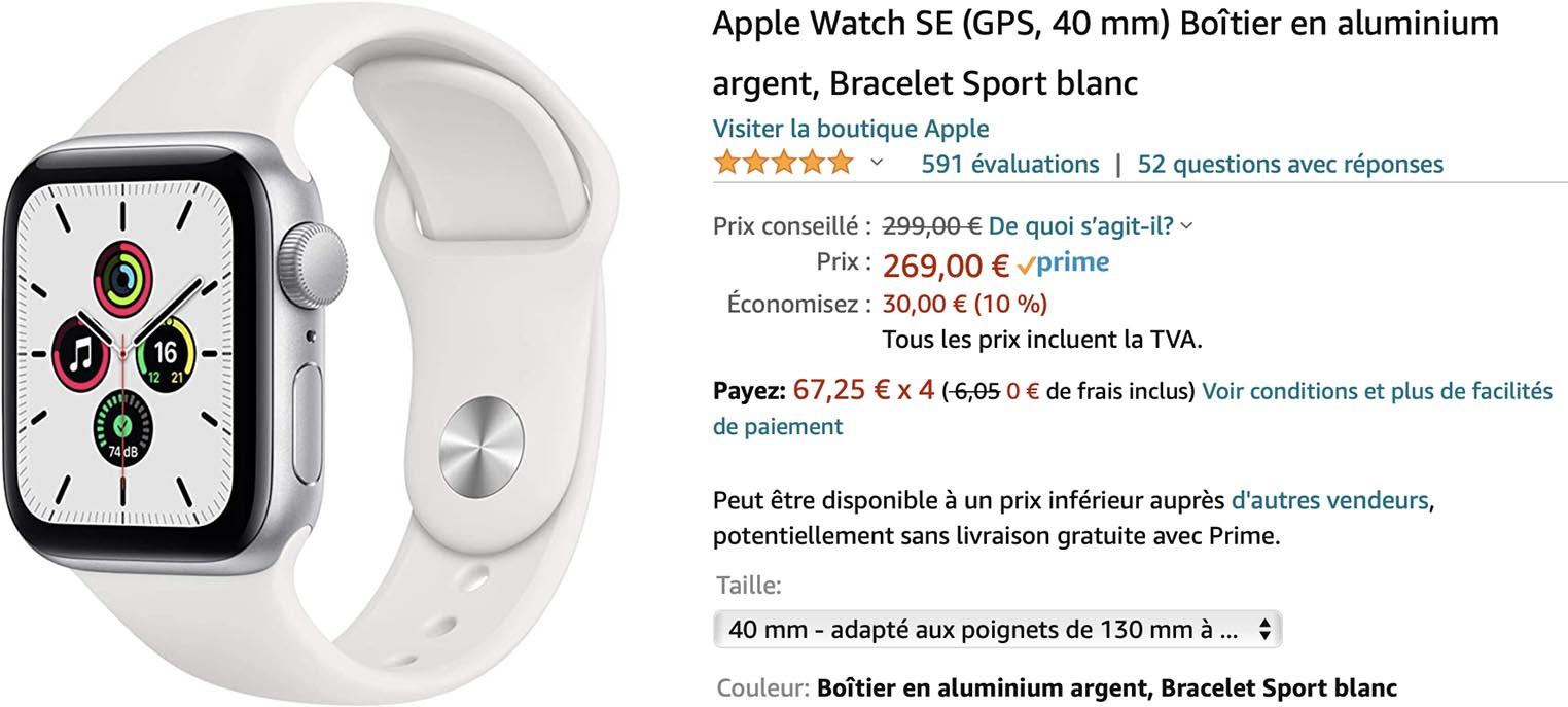 Apple Watch SE Amazon