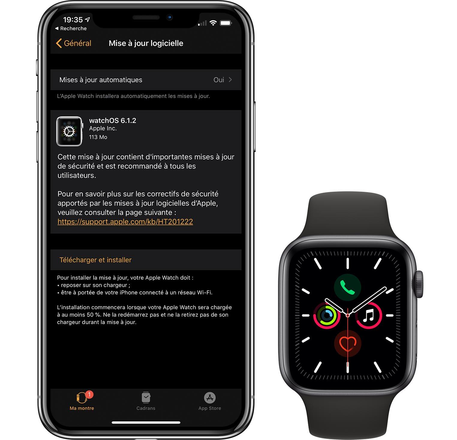 watchOS 6.1.2