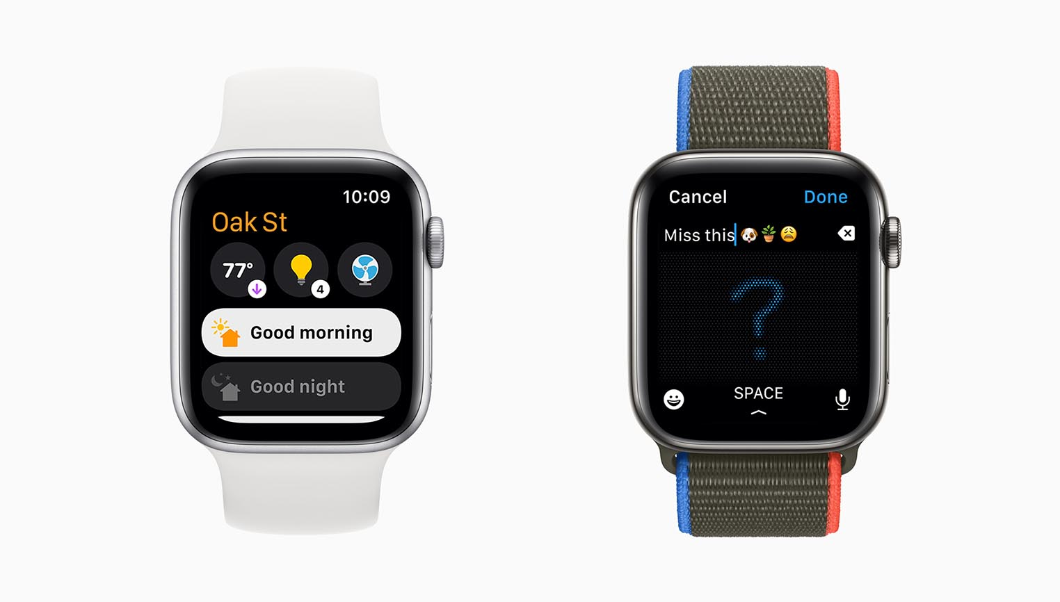 watchOS 8 Home Messages